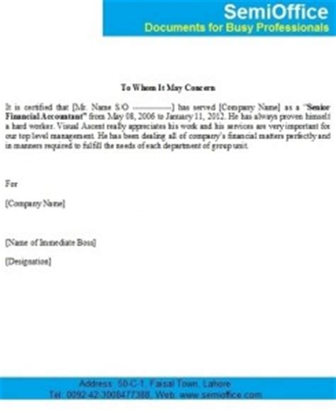 Jharkhand Finance Department Letter experience letter for financial accountant