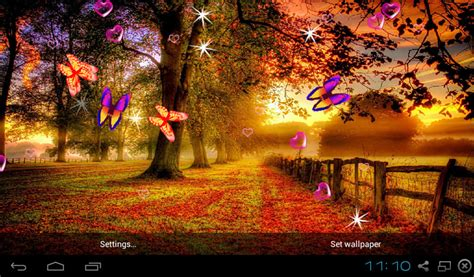 download colorful autumn 3d live wallpaper free for free 3d autumn live wallpapers apk download for android