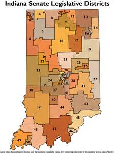 state senate districts map legislative redistricting topic page stats indiana