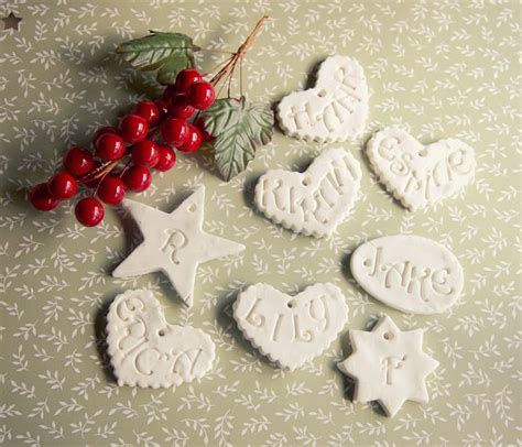 pauperhandmade better than salt dough ornaments to