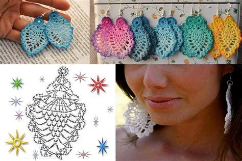 Handmade Crochet - diy handmade crochet earrings usefuldiy