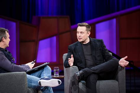 Ted Talks Tesla Elon Musk Explains Why He S On President S Advisory