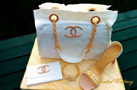 Chanel Bag Cake ? Grated Nutmeg