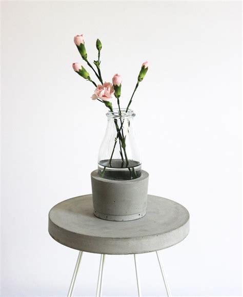 beton vase selber machen dekorieren mit beton beton org