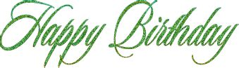 happy green color happy birthday glitter wishes page 6
