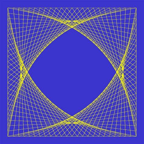 Geometric String Patterns - string patterns for geometry