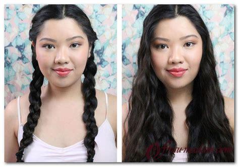 easy hairstyles before bed как сделать кудри локоны с помощью косичек на ночь фото