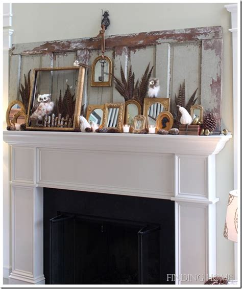 mantel decorating tips decorating mantel for fall myideasbedroom