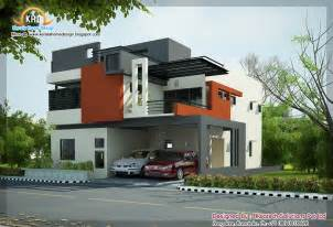 Home Design Modern Contemporary by 2 Beautiful Modern Contemporary Home Elevations Kerala