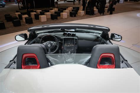 nissan roadster interior nissan 370z nismo roadster concept makes its debut in chicago