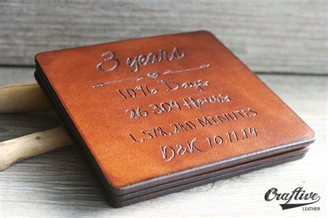 3rd Wedding Anniversary Gift Ideas Leather by Leather Gifts For Third Anniversary Gift Ftempo