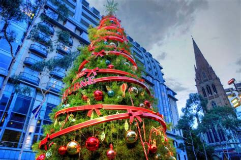 christmas lights up melbourne