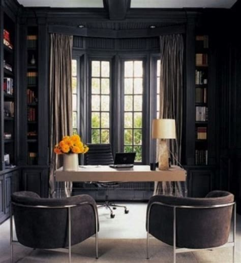 Contemporary Bathroom Decor Ideas - 33 stylish and dramatic masculine home office design ideas digsdigs