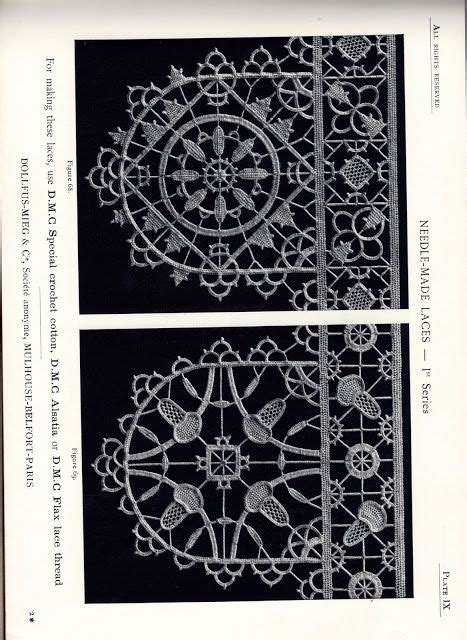 antique pattern library bobbin lace 420 best images about hardanger needle lace patterns and