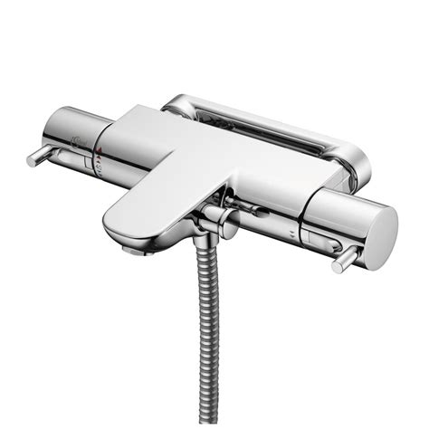 Wall Mounted Thermostatic Shower Mixer by Product Details A5639 Thermostatic Wall Mounted Bath