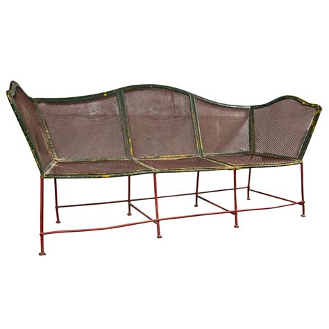 french for bench french garden bench c 1920 at 1stdibs