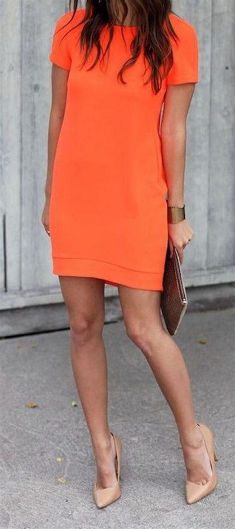 Dress Wanita Orange 25 best ideas about orange fashion on orange