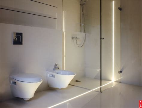 Modern Bathroom Led Lighting Led Bathroom Contemporary Lighting Modern Bathroom