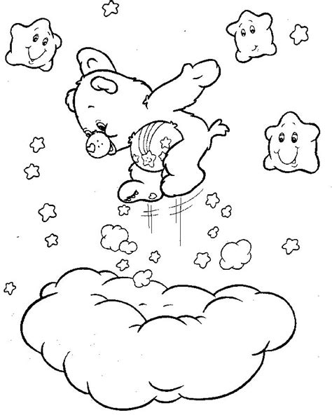 wish bear coloring pages 48 best digi sts 80 s cartoons images on pinterest