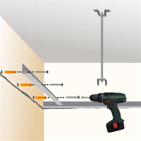 Plafond Suspendu En Plaque De Platre by Poser Un Faux Plafond En Plaques De Pl 226 Tre Plafond
