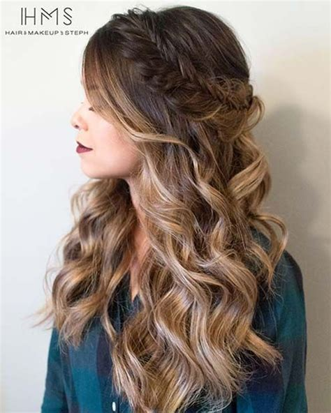 homecoming hairstyles all down 25 best ideas about long prom hair on pinterest grad