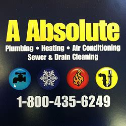 Absolute Plumbing Nj by Absolute Plumbing Heating And Air Conditioning Networx