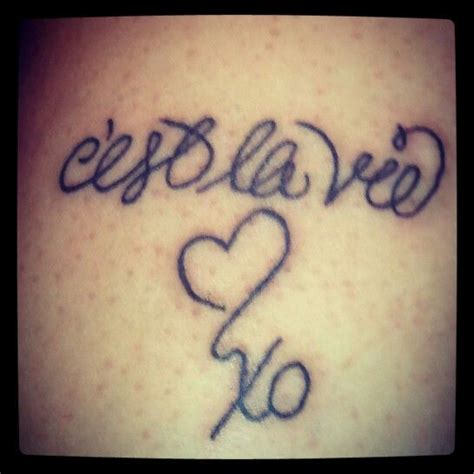 c est la vie tattoo designs 17 best images about ink ideas on tattoos