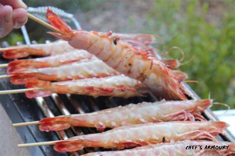 Making Kitchen Knives how to prepare bbq prawns