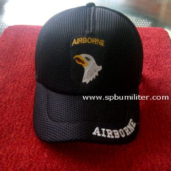 Topi Airborne Murah topi airborne hitam spbu militer