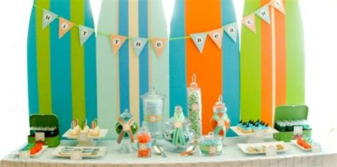 Surfing Party Kids Style Design Dazzle