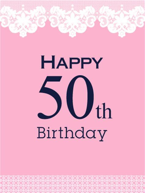 Free 50th Birthday Cards Milestone Birthday Cards Birthday Greeting Cards By
