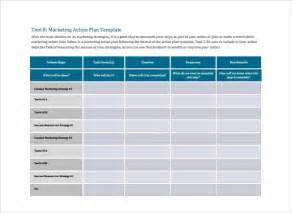 marketing template marketing plan template 9 documents in