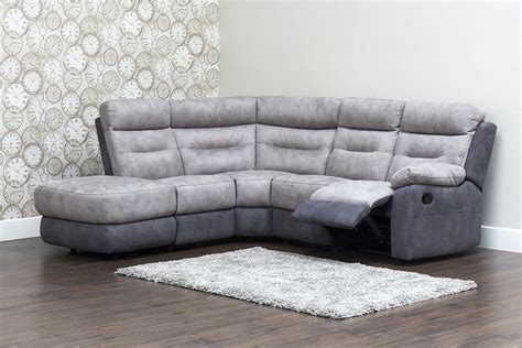 fabric corner sofa with recliner dillon fabric recliner corner sofa
