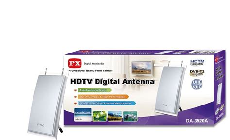 Antena Antenna Px Digital Tv Indoor Da1201np Da 120np Tipis Electronic City Px Digital Tv Indoor Antena Da 3520a