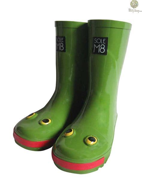 wellies boots solem8 quot leapfrog quot frog wellies
