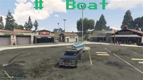 boats gta v online gta5 online rare boat trailer spawn location grand theft