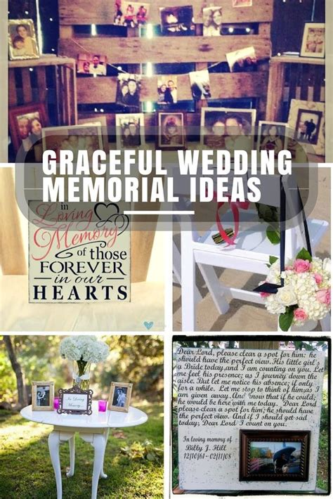 memorial ideas unique wedding memorial ideas in loving memory diys