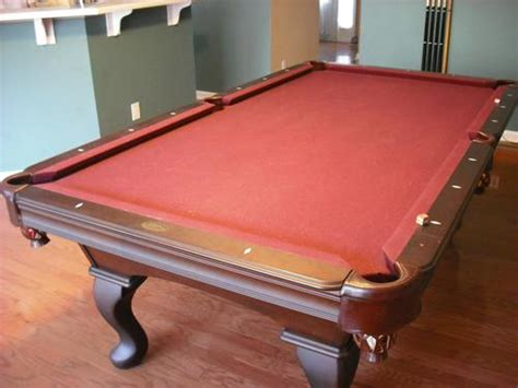 used olhausen pool tables used 8 olhausen pool table with billiard accessories