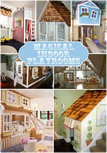 This post is full of magical indoor playhouses for kids feel free to