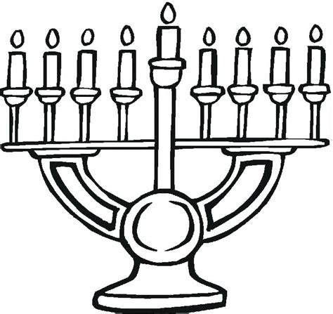 coloring page of a menorah menorah coloring pages az coloring pages