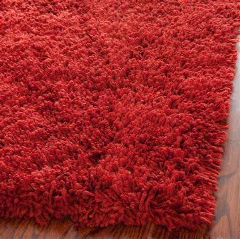 colored shag rug rust colored shag area rug safavieh