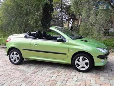 peugeot green peugeot 206 cc lime green