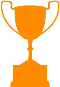 award cup trophy silhouette free vector silhouettes