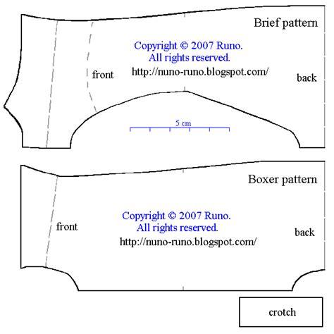pattern making men s underwear nuno life briefs