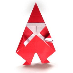 Simple Origami Santa Claus - how to make a simple origami santa claus page 15