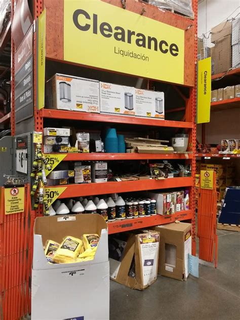 home depot penny shopping guide clearance items marked