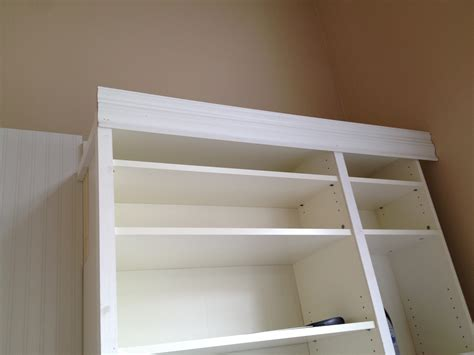 bookcase with crown molding billy bookcase moves like martha