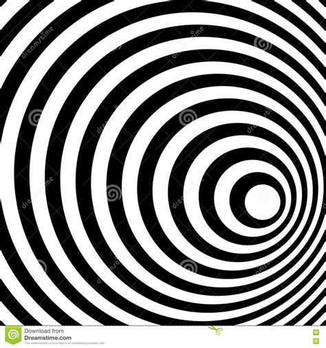 spiral pattern black and white abstract ring spiral black and white pattern stock image