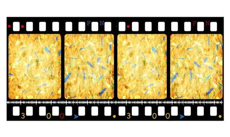 aged wallpaper with film strip border stock illustration old 35 mm movie film reel 2d stock photo colourbox