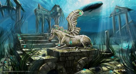 landscape atlantis by lenika86 on deviantart